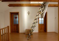escalier escamotable de grenier. Black Bedroom Furniture Sets. Home Design Ideas